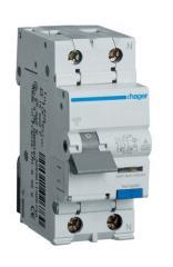 Дифференциальный автомат Hager 2П 6А 30мА тип С