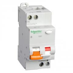 Дифавтомат 2П 25А 30мА С АД63 Schneider Electric