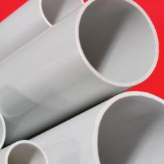 Труба 16мм усиленная ПВХ жесткая гладкая 3м серый