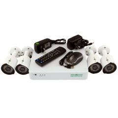 Комплект видеонаблюдения на 4 камеры Green...
