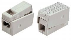 Клемма на 2 проводника 1,0-2,5 мм² для