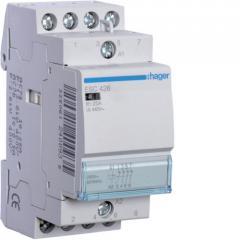 Контактор Hager 25A 4НЗ 230В ESC426