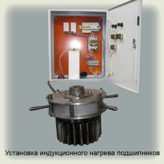 Installation of induction heating of bearings (an