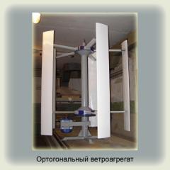 Orthogonal vetroagrega