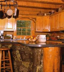 Кухни из натурального дерева под заказ