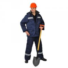 Means of emergency rescue of crews, the Suit the
