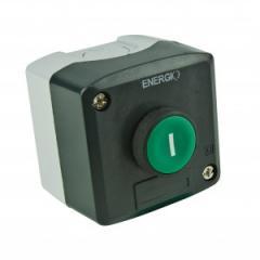 Пост кнопочный ПУСК XAL-D102 зеленый NO
