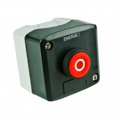 Пост кнопочный СТОП XAL-D112 красный NC