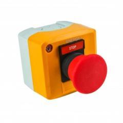 Пост кнопочный СТОП грибок XAL-D164 красный NC