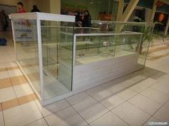 Мебель для магазинов, Витрины, стеллажи, прилавки