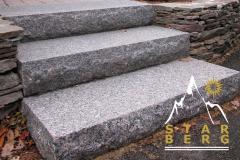 Stone footsteps, corbels