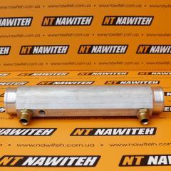 Радиатор (теплообменник) КПП JCB (новый тип)