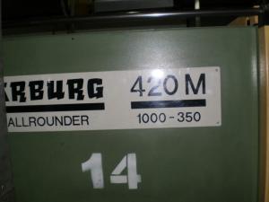 ARBURG Allrounder 420 M-1000-350 automatic molding