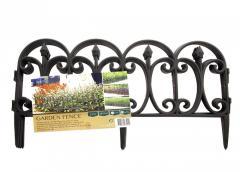 ED1-370029, Декоративная оградка для сада, 4 шт, ,