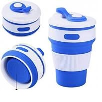 Складной силиконовый стакан Collapsible Coffe Cup