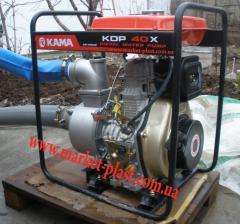 Мотопомпа дизельная кама KDP 40X для капельного