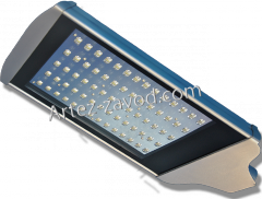 The LED street lamp for external illumination of