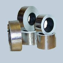 Heat-resistant adhesive tape aluminum