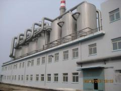 The cellulose industrial equipment under the order