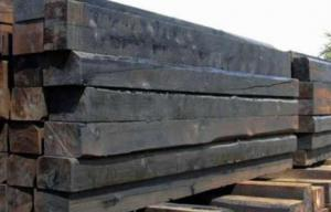 Шпалы деревянные пропитанные