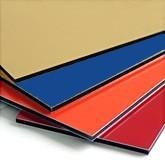 Aluminum composite ALUCOBEST panels