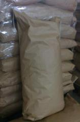 Oat flakes in paper bags of 20 kg
