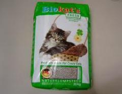 Fillers for cat's toilets, BioKat's Fresh of 20 kg