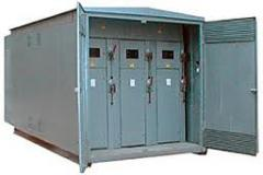 Automatic equipment for transformer substations