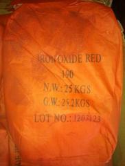 Пигмент красный 190 железоокисный Китай