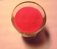 Кварцевый песок окрашенный. Розовый.