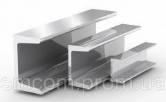 Швеллер алюминиевый равнополочный АД31,  АД0