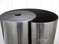 Insulating materials for air ducts.