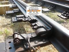 Railroad switches in assortmen