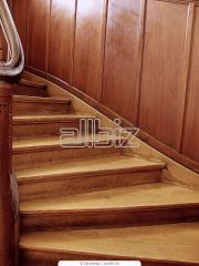 Лестницы винтовые деревянные, Лестницы Из