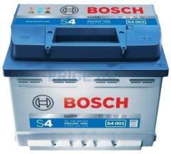 Accumulator 6ST-56 Bosch. Starting current 480 A.