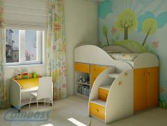 Furniture nursery game
