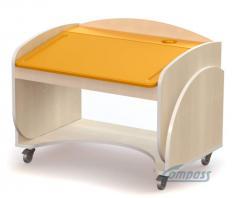 Children's school desk wooden