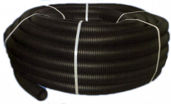 The hose is polymeric corrugated