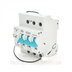 Автоматичний вимикач 3P/220V/32A с вітдаленним