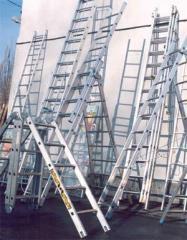 Лестницы и стремянки алюминиевые