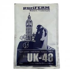 Сухие турбо дрожжи Puriferm UK-48