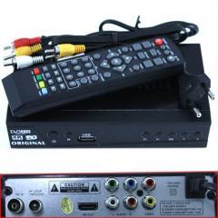 ТВ ресивер DVB-T2 HD цифровой эфирный приемник