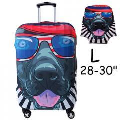Чехол для дорожного чемодана на чемодан защитный