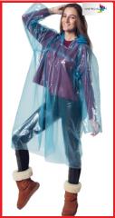Плащ-дощовик поліетиленовий