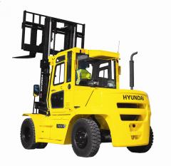 Diesel fork loaders of HYUNDAI 50-80D-7E