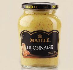 Горчица дижонская с майонезом Maille, 335 гр.