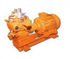 Compressors of a high pressure K2-150, EK2-150,