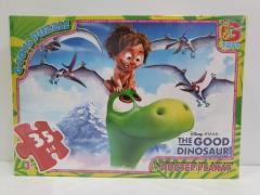 """Пазл із серії """"Хороший дінозавр"""", 35 ел."""