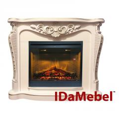 Каминокомплект IDaMebel Dallas White...