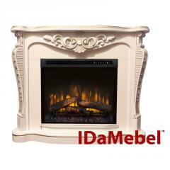 Каминокомплект IDaMebel Dallas White Dimplex...